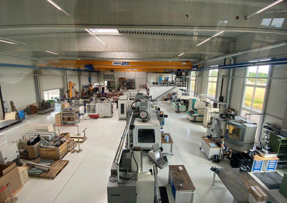 Werkzeugbauhalle